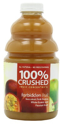 dr. smoothie forbidden fruit 100 percent crushed fruit concentrate 46 oz.