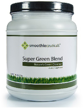 dr. smoothie smoothieceuticals super green blend 1.0 lb.