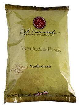 cafe essentials naturals vanilla cream 25# per box