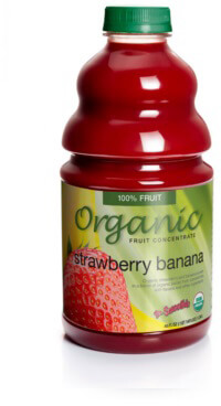 dr. smoothie organic strawberry banana smoothie concentrate-46 ounce bottle