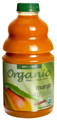 dr. smoothie organic mango smoothie concentrate 3 pack (46 ounce bottle)