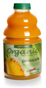 dr. smoothie organic pineapple smoothie concentrate-46 ounce bottle