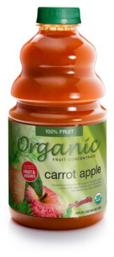 dr. smoothie organic carrot apple smoothie concentrate-46 ounce bottle