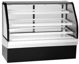 """Federal ECGD50 Non Refrigerated Bakery Case 50"""""""