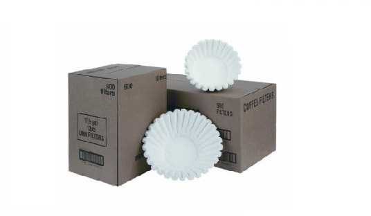 paper coffee filter- 9 3/4