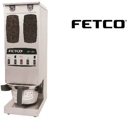 fetco dual hopper coffee grinder gr-2.2