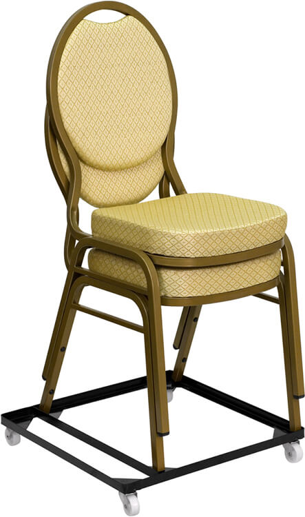 Flash Furniture stack chair dollie  FD-BAN-CH-DOLLY-GG
