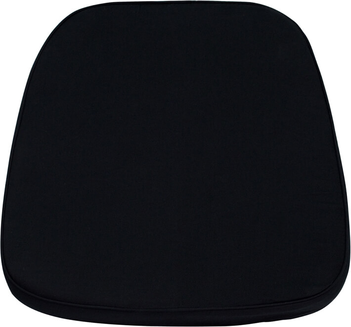 Flash Furniture chiavari chair cushion  LE-L-C-BLACK-GG