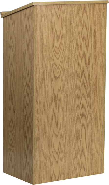 Flash Furniture Oak lectern  MT-M8830-LECT-OAK-GG