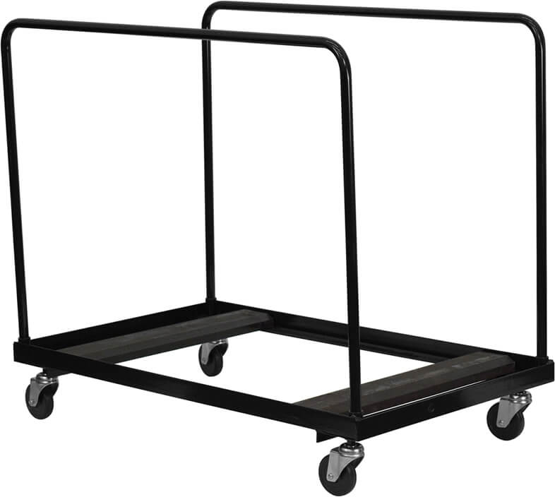 Flash Furniture folding table dolly  NG-DY60-GG
