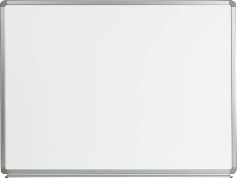 Flash Furniture 4 x 3 marker board  YU-90X120-WHITE-GG