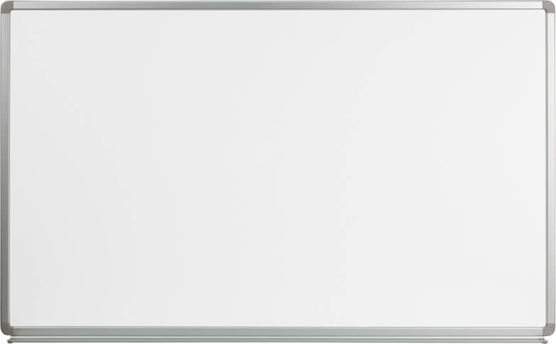 Flash Furniture 5ft W x 3ft H marker board  YU-90X150-WHITE-GG