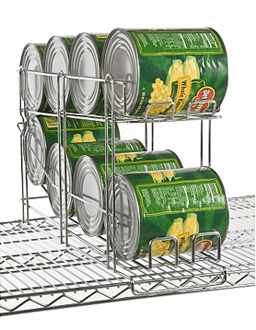 Focus Foodservice Wire Can Rack FFCR10CH