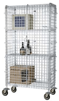 Focus Foodservice Security Cage Complete Mobile Kit FMSEC18363