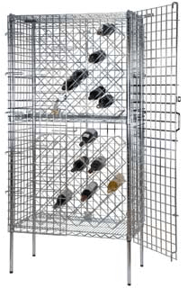 Focus Foodservice Security Wine Rack FSWR1836CH