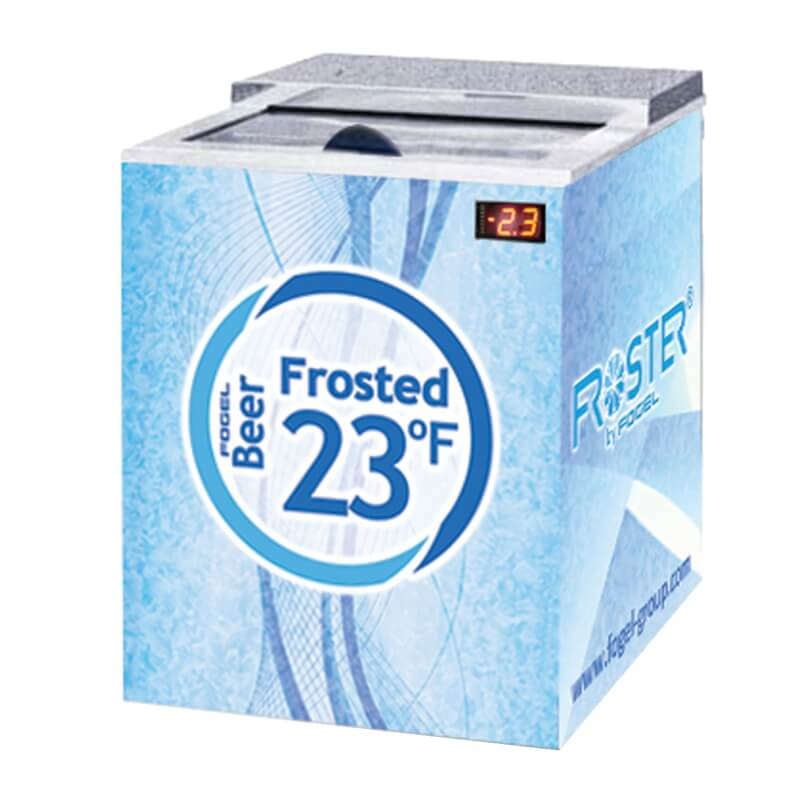 Fogel Horizontal Beer Froster 1 section 5 cu. ft.  - FROSTER-B-25-HC