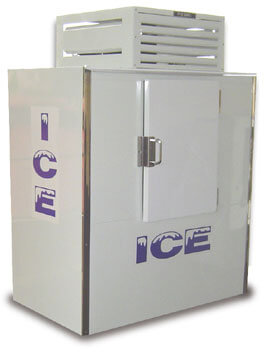 Fogel Commercial Ice Merchandiser bagged ice 47 cu. ft.  - ICB-1