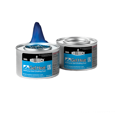 Hollowick Gel Heat Blue Chafing Fuel - GHBLUE (case)