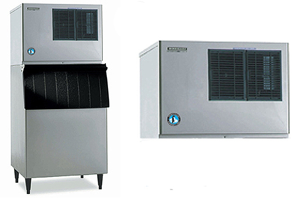 hoshizaki comercial ice machine low profile module self-contained crescent cuber kml-451mah