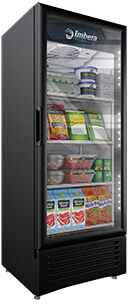 Imbera 12 cft Commercial Refrigerator Single Glass Door Display #VR12