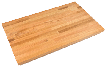 "John Boos Kitchen Countertop 12"" W x 25"" D x 1-1/2"" thick - OKT-BL1225-O"