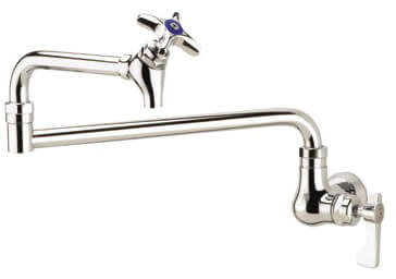 Krowne Royal Series Wall Mount Pot Filler Faucet Model 16-181L