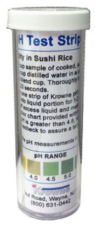 Krowne pH Test Strips SS25-126