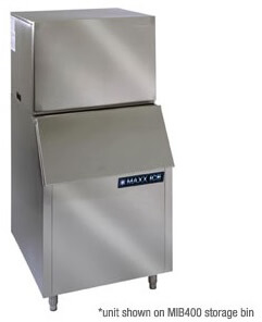 Maxx Ice 1000 lb Ice Maker with 400 lb Ice Bin MIM1000MIB400