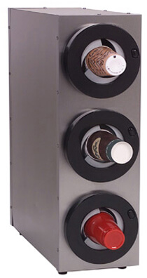 A.J. Antunes Roundup Cup Dispenser with 3 Compartments Model DACS-30