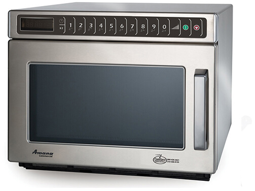 Amana Commercial Digital Microwave .6 Cft Countertop- HDC12A2