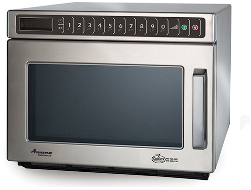 Amana Commercial Digital Microwave .6 Cft Countertop-HDC182