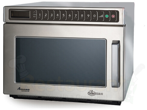 Amana Commercial Digital Microwave .6 Cft Countertop- HDC212