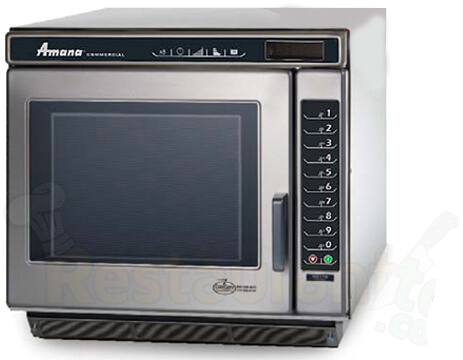 Amana Commercial Digital Microwave 1 Cft Countertop- RC17S2