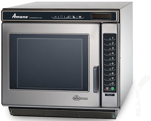 Amana Commercial Digital Microwave 1 Cft Countertop-RC30S2