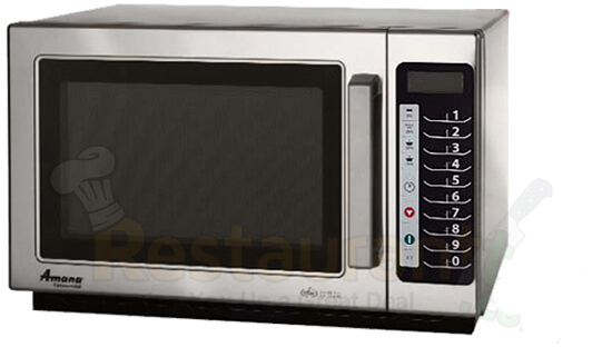 Amana Commercial Digital Microwave 1.2 Cft Countertop-RCS10TS