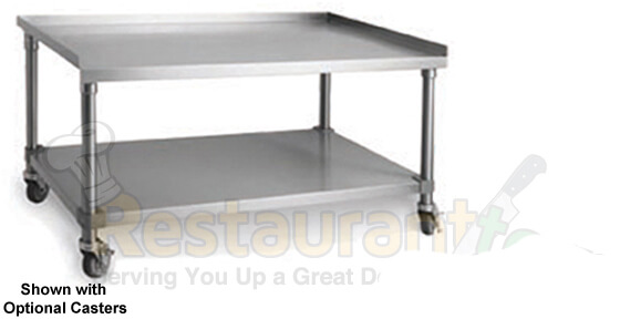 Imperial Prep Table W UnderShelf Stainless Steel IHMS - Stainless steel table accessories