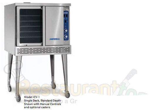 Imperial Commercial Cnv. Oven Single Deck Std. Depth Gas ICV-1
