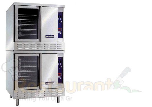 Imperial Commercial Cnv. Oven Double Deck Std. Depth Gas ICV-2