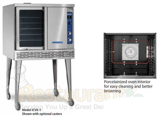 Imperial Commercial Cnv. Oven Single Deck Std. Depth Electric ICVE-1