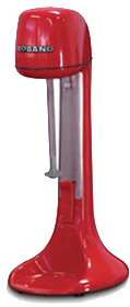roband 24 oz. commercial drink mixer with two speeds (red) model dm21-us-r