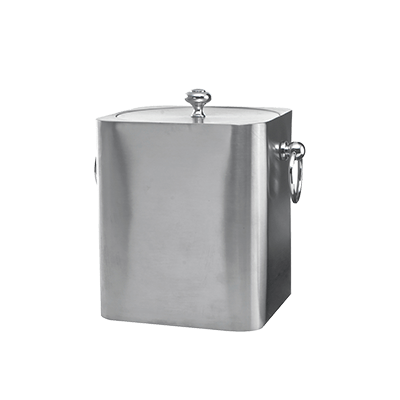 Service Ideas Ice Bucket IBSQ3BS (Case of 6)