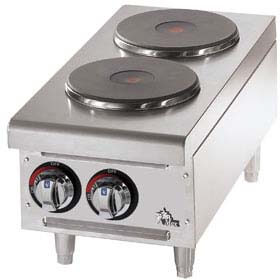 Star-Max Hotplate two burners - QUICKSHIP - 502FD