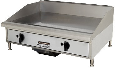 Toastmaster Griddle Counter Top Natural Gas, Steel Plates- TMGT24