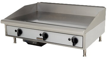 Toastmaster Griddle Counter Top Natural Gas, Steel Plates -TMGM36
