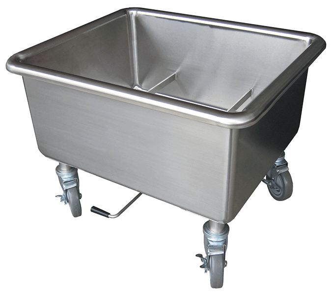 Steril-Sil E1 Mobile Soak Sink - E1-SK-2