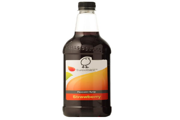 sweetbird syrup strawberry 1 liter model 99030