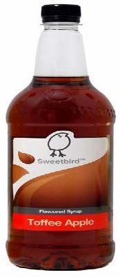 sweetbird syrup toffee apple 1 liter model 99042