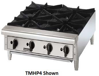 Toastmaster Hot Plate Counter Top, Cast Iron Grates - TMHP6