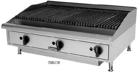 Toastmaster Radiant Charbroiler Counter Top, 208V- TMRC36