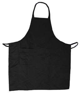 Update International Bib Apron - BAP-BK